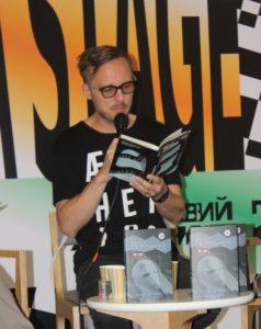 Міхал Гворецький на Книжковому Арсеналі-2018